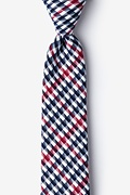 Red Cotton Encinitas Skinny Tie