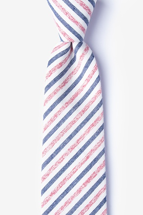 Englewood Red Extra Long Tie