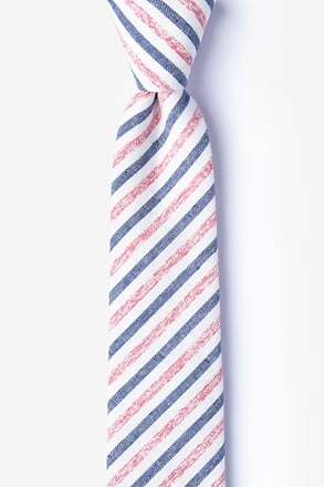 Englewood Red Skinny Tie