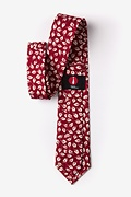 Florence Red Extra Long Tie Photo (2)