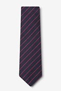 Glenn Heights Red Extra Long Tie