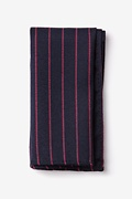 Red Cotton Glenn Heights Pocket Square