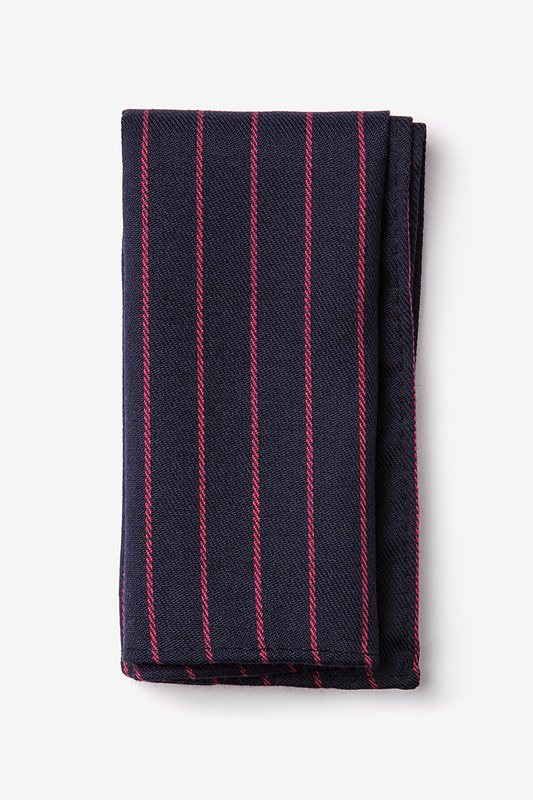 Glenn Heights Red Pocket Square Photo (0)