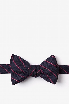 Glenn Heights Red Self-Tie Bow Tie