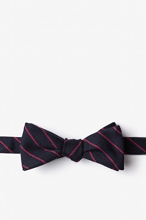 _Glenn Heights Red Skinny Bow Tie_