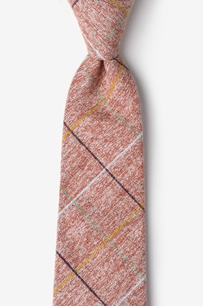 Globe Red Extra Long Tie