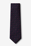 Gresham Red Extra Long Tie Photo (1)
