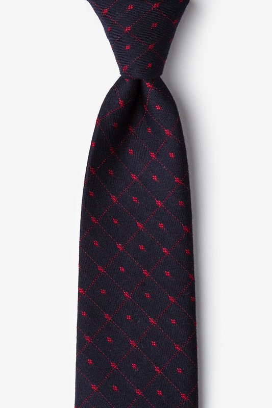 Gresham Red Extra Long Tie Photo (0)