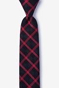 Red Cotton Joaquin Skinny Tie