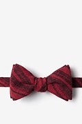 Red Cotton Katy Self-Tie Bow Tie