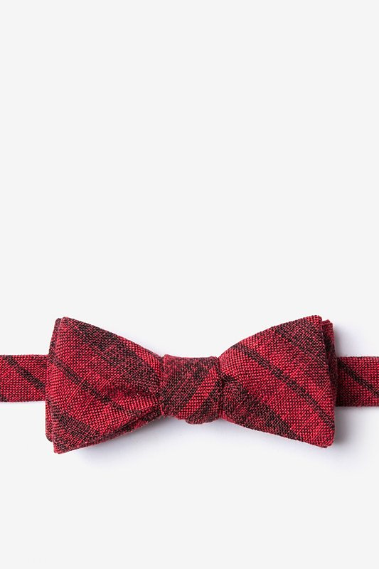 Katy Red Skinny Bow Tie Photo (0)