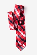 Kennewick Red Extra Long Tie Photo (2)