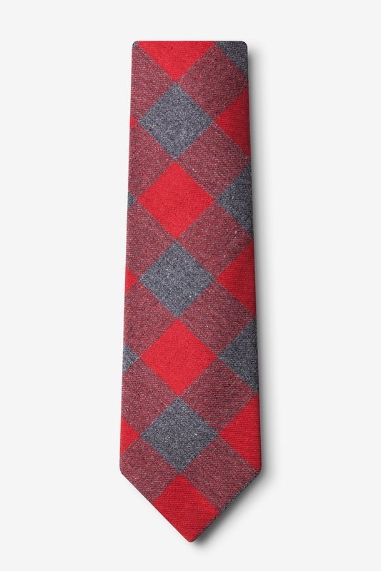 Kent Red Extra Long Tie Photo (1)