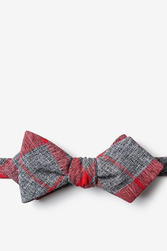 Kirkland Red Diamond Tip Bow Tie Photo (0)