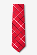 Maricopa Red Extra Long Tie