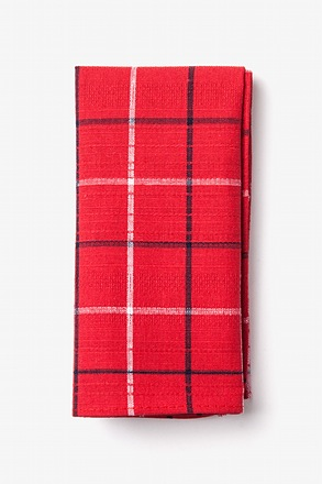 Maricopa Red Pocket Square