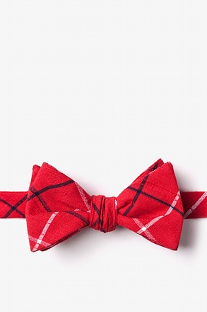 Maricopa Red Self-Tie Bow Tie