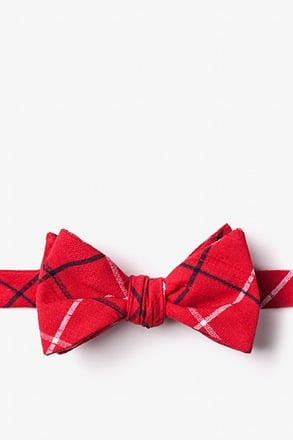 _Maricopa Red Self-Tie Bow Tie_