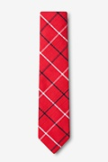 Maricopa Red Skinny Tie Photo (1)
