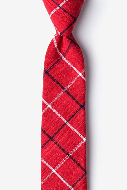 Maricopa Red Skinny Tie Photo (0)