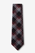 Richland Red Extra Long Tie Photo (1)