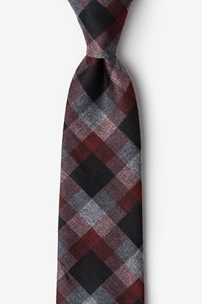 Richland Red Extra Long Tie