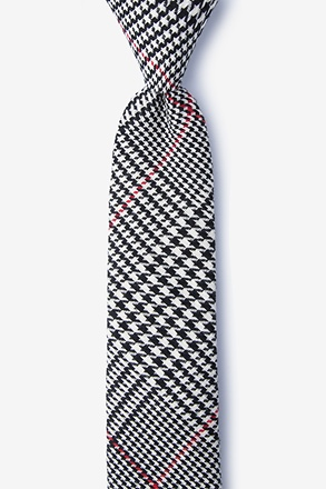 Rock Red Skinny Tie