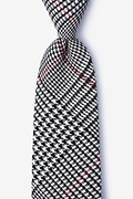 Red Cotton Rock Tie