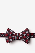 Red Cotton Roseburg Butterfly Bow Tie