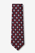 Roseburg Red Extra Long Tie