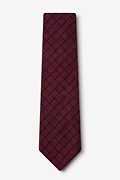 San Luis Red Extra Long Tie Photo (1)
