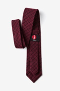 San Luis Red Extra Long Tie Photo (2)