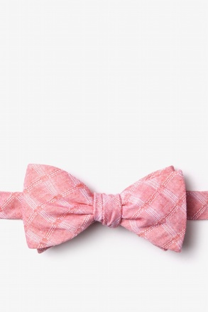 _Tacoma Red Self-Tie Bow Tie_