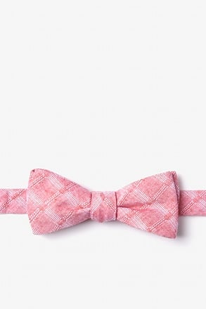 _Tacoma Red Skinny Bow Tie_