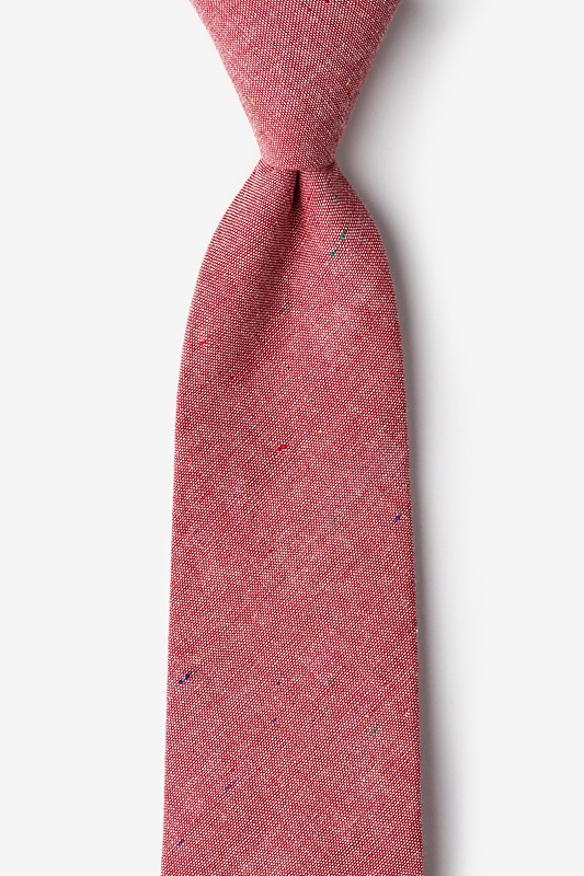 Teague Red Tie Photo (0)