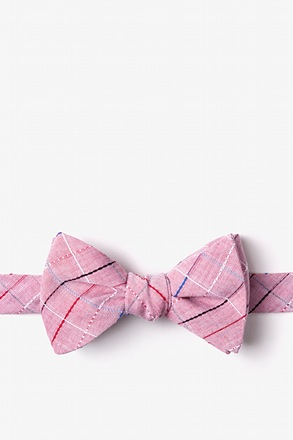 _Tom Red Self-Tie Bow Tie_