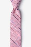 Red Cotton Tom Skinny Tie
