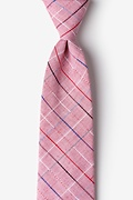 Red Cotton Tom Tie