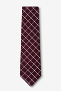 Tucson Red Extra Long Tie Photo (1)