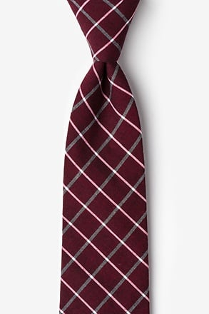 Tucson Red Extra Long Tie