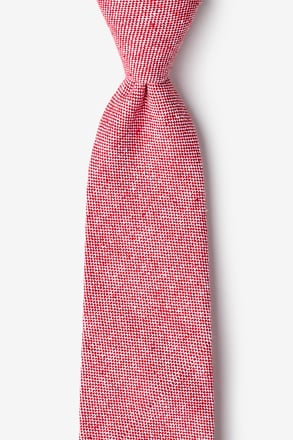 Westminster Red Extra Long Tie