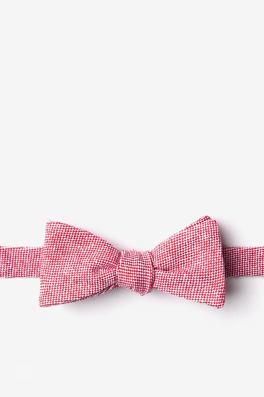 Westminster Red Skinny Bow Tie Photo (0)