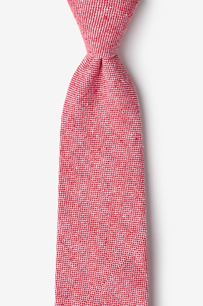 Westminster Red Tie