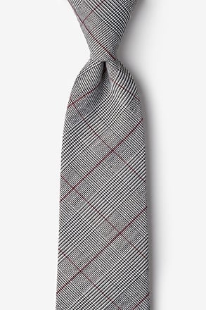 Williams Red Extra Long Tie