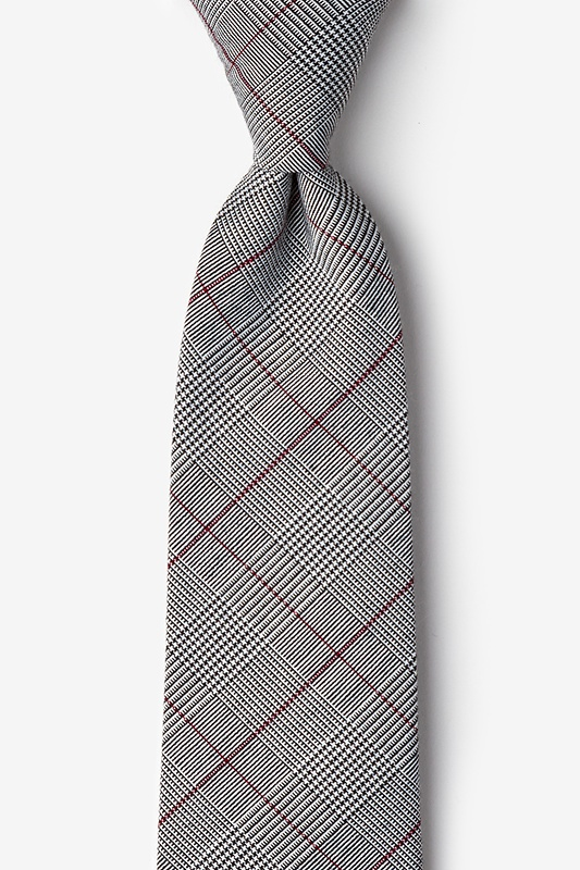 Williams Red Extra Long Tie Photo (0)