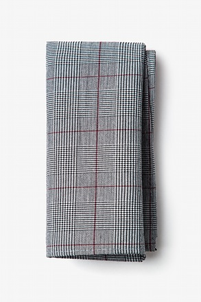 Williams Red Pocket Square
