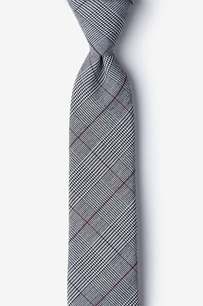 _Williams Red Skinny Tie_