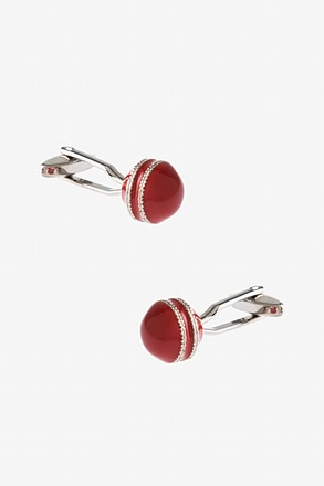 Double Ornate Christmas Cufflinks