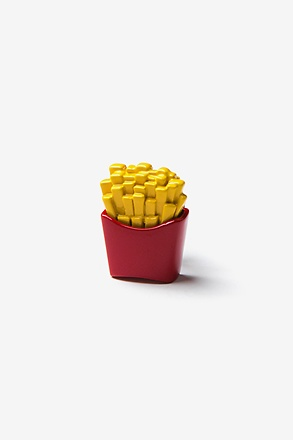_French Fries Red Lapel Pin_