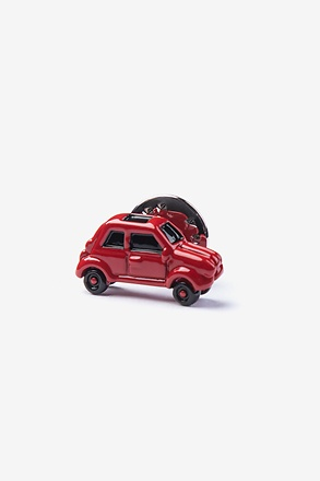 Mini Cooper Red Lapel Pin